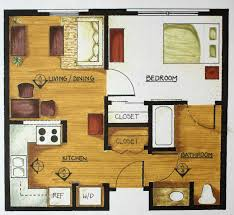 Small One Bedroom Homes Open Floor Plans For Small Homes Open Floor Plans With