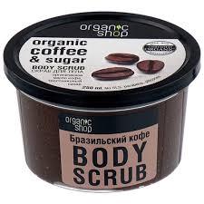 Купить Organic Shop <b>Скраб для тела Бразильский</b> кофе, 250 мл в ...