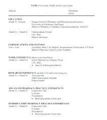 College Student Resume Format Current College Student Resume Student