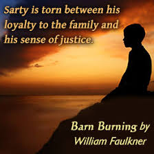 william faulkner s barn burning summary and analysis