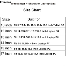 Apple Bags Size Chart
