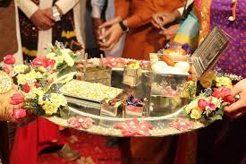Mehndi Tray Decoration