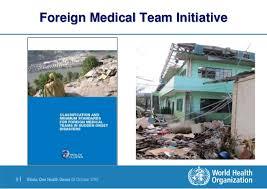Hasil gambar untuk 'The Global Foreign Medical Teams' (FMT)