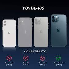 POVINMOS für iPhone 12 Pro Max Panzerglas Kamera Kameraschutz Schutzfolie,  6.7 inch 5G 2020 9H Anti-Kratzer Panzerglasfolie Displayschutz (Schwarz/3  Stück): Amazon.de: Elektronik