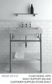 sink with metal legs console legarble sink double console sink metal legs
