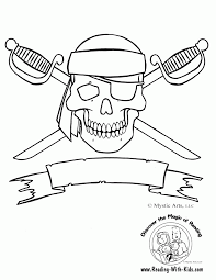 Numberjacks drawing/coloring video and downloadable coloring page. Pirate Coloring Book Coloring Home