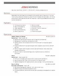 Resume Format For Hotel Job Awesome Hotel Front Desk Resume