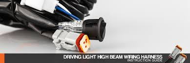 stedi blog quick fit high beam driving light wiring harness the supplied switch in our plug play harness allows you to isolate your driving lights from your high beam when the switch is on the light bar will turn