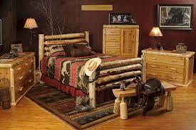 Drifter Corral Log Bed BRB10 Log Bedroom Furniture Minnesota