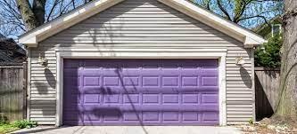 how to paint a fiberglass garage door