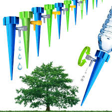 <b>New 12pcs</b> Drip Irrigation System Automatic Watering Spike for ...