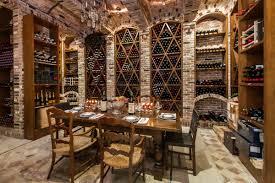 spacious room wine cellar design palazzo di amore beverly hills barrel wine cellar designs