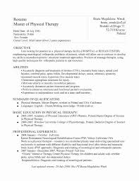 Massage Therapist Resume Massage Therapist Cover Letter Elegant Massage Resume Samples 27