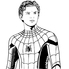 Disegno 4 Di Spider Man Far From Home Da Colorare