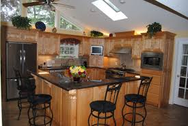 Kitchen Granite Worktop Kitchen Island With Bench Seating Beige Granite Worktop Gas Range