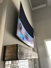 curved tv on wall. Modren Curved Living Room Curved Tv Raleigh NC With Curved Tv On Wall L