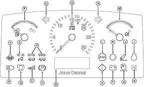 Coolant Temperature Low Indicator Light Omsu20699 5085m And 5095m Tractors Operators Manual Block