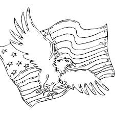 Pictures Of Eagles To Color Best Bald Eagle Coloring Page For Kids