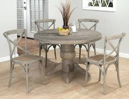 grey wood stain kitchen table weathered home design ideas round dining tables room