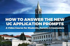 the hour guide to the uc personal insight questions  video course how to answer the new uc application prompts