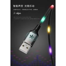Cáp sạc Remax RC-133i đèn led chớp nháy liên tục sạc nhanh 2.1A dây sạc  iphone/ipad dài 1m - phukienthg