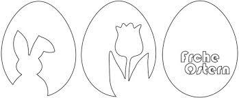 Ostern steht vor der tür und ihnen fehlt noch etwas deko? 3 Vorlagen Fur Schnelle Schlichte Osterdeko Aus Papier Osterhase Tulpe Frohe Ostern Handmade Kultur