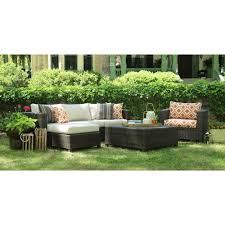 Outdoor Lounge Orange Brown Patio Conversation Sets Outdoor Lounge