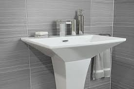 Bathroom sink Countertop How To Install Pedestal Basin Bq Bathroom Basins Bathroom Sinks Washbowls