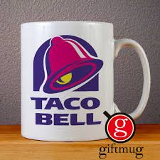 Order delivery from taco bell on 4041 manzanita avenue, carmichael, ca. Taco Bell Logo Ceramic Coffee Mugs From Gift Mug