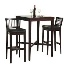 high end kitchen table and chairs. tall kitchen table. with high bench built into one wall for storage ! end table and chairs