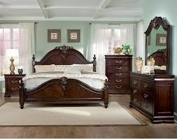 Large Size of Bedroomdesign Acme Voeville 4pcs Antique White King  Panel Bedroom Set King