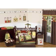 sweet jojo designs forest friends 9 piece crib bedding set for cool nursery decoration ideas