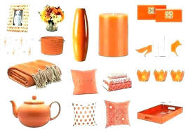 Orange Home Decor Accents