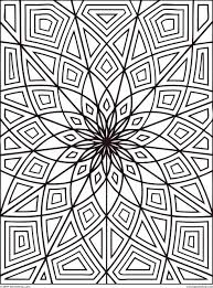 Printable Coloring Pages geometric shape coloring pages : Get This Complex Coloring Pages for Adults 34BV7 !