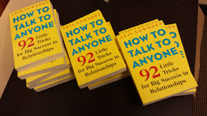 How To Talk To Anyone How To Talk To Anyone 92 Little Tricks For Big Success In