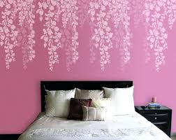 stencils wall painting cherry blossom wall stencil childrens wall stencils painting uk