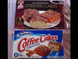 Maybe you're visiting someplace new and want that taste of home from your favorite snack? Little Debbie Vs Hostess Cinnamon Streusel Cakes Taste Test Comparison Youtube