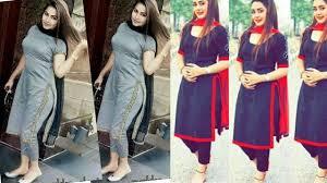 Contrast Dress Design 2018 Simple And Stylish Panjabi Patiala Dress Salwar Suit Designs