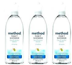 method daily shower daily shower spray method ounces pack of 3 homemade vinegar natural cleaner sh