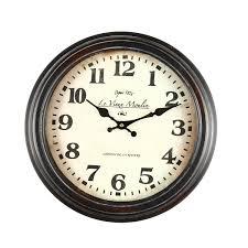 office wall clocks. Brown Antique Look Wall Clock \ Office Clocks M