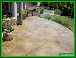 stained concrete patio. Stained Concrete Patio Colors Design Idea - Home Landscaping Stained Concrete Patio E