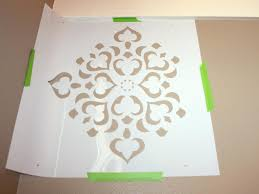 Stencil Art Designs For Walls How To Stencil A Focal Wall Hgtv