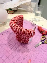 Christmas Decorations Using Candy Canes Candy cane craft Winter Christmas Pinterest Candy cane 52