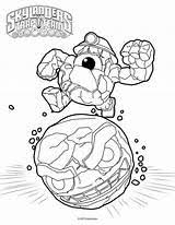 Skylanders Trap Team Kaboom Coloring Pages Coloring Pages