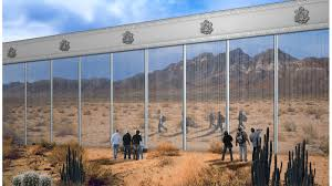 Border Wall Design Concepts Photos The Many Proposals For President Donald Trumps
