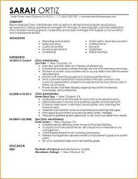 Healthcare Administration Sample Resume 11 9 Bibliography Format