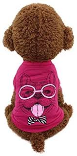 XS, Red Xinantime Cute <b>Dog</b> Cat T-shirt <b>Clothing</b> Small <b>Puppy</b> ...