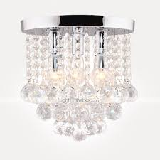 Bedroom Semi Flush Ceiling Lights Semi Flush Mount Ceiling Light Modern Led Crystal Chandelier