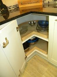 lazy susan turntable in spaces modern with kitchen corner cabinet