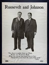 poster of roosevelt and johnson picture this or view larger version